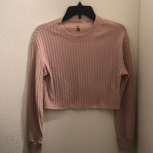 LAST CHANCE Me to We Pacsun Cropped Sweater